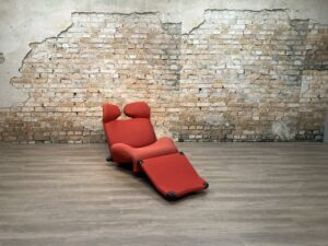 Cassina Wink Fauteuil Rood